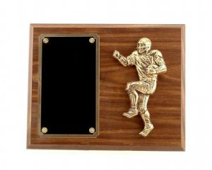 Football Keeper Plaque Fantasy Football Trophies Football Awards