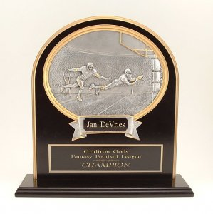 Fantasy Football Trophies, The Executive Keeper Plaque