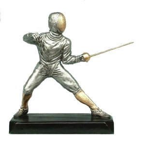 Fencing Trophies Sculpture Awards