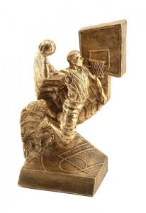 Air Basketball Trophy Sculpture