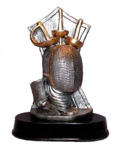 Fencing Sculpture Trophies Awards