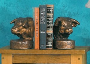 Hereford Bull Bookends Gifts Trophies