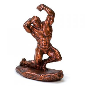 Flex 14 inch Bodybuilding Sculpture Trophies