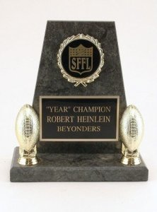 Mini Greystone Keeper Fantasy Football Trophies Football Award