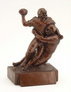 Quarterback Tackle Fantasy Football Trophies Keeper Awards