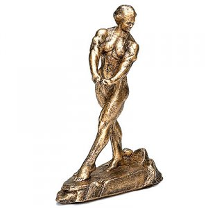 Elegance 17 inch Female Bodybuilding Sculpture Trophies
