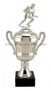 Fantasy Football Trophies HUGE Silver Cup Trophy