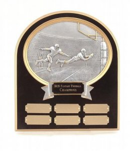 Executive Wall Plaque Fantasy Football Trophies # 22