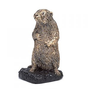 Golden Gopher Trophy Mascot Caddyshack Sculpture