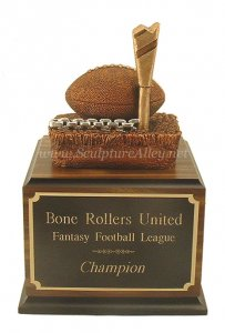 mmmmMMMMOVE THOSE CHAINS!! Fantasy Football Trophy # 34