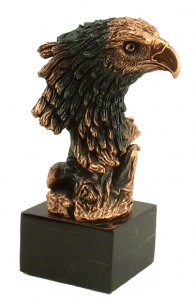 Military Awards Eagle Scout Trophy Sculpture