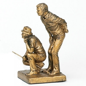 Golf Partners Large Men's Trophy Golf Trophies and Awards