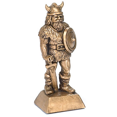 Viking Warrior Sculpture Strongman Trophy Weightlifting