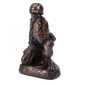 Soldier Sculpture Military Gifts Army Marines Awards