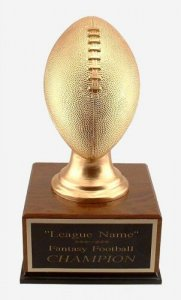 Solid Regulation Football Fantasy Football Trophy # 6