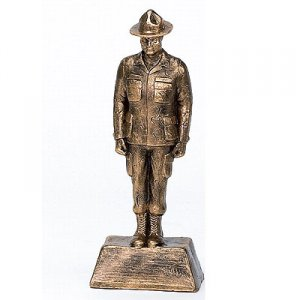 Huge 18 inch Drill Sergeant Trophy Military Sarge Awards