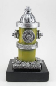 Fireman Awards and Trophies, Small Fire Hydrant Trophy