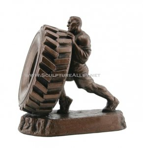 TIRE FLIP TROPHY Strongman trophies and sculpture