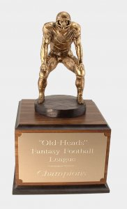 Fantasy Football Trophies # 3 Lineman Up Awards