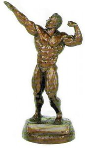 Archer 20 inch Bodybuilding Sculpture Trophies