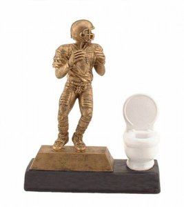 Ultimate Toilet Bowl Trophy Funny Fantasy Football Trophies