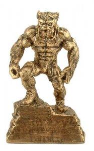 Wrestling Trophies Beast Monster Sculpture Statue F55