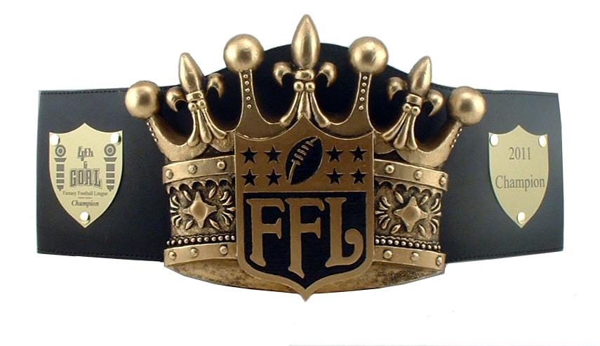 Image Result For Fantasy Football Championship Belt Custom