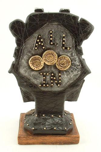 Texas Hold em Trophies Poker Sculpture - Click Image to Close